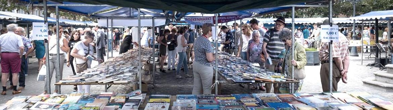Boekenmarkt standhouder